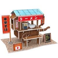 Cubic Fun 3D 31 Parça Japon Ramen Dükkanı Puzzle