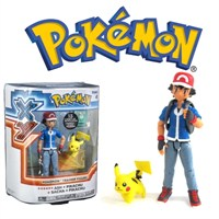 Pokemon: Ash & Pikachu Action Figure Set