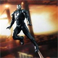 Iron Man 3 Mark 16 Battlefield Collection Figure