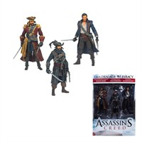 Assassin's Creed Series 1 Pirate Action Figure 3 Pack