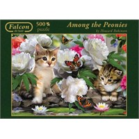 Among The Peonies (500 Parça Puzzle)