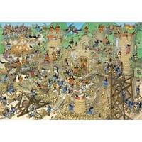 Castle Conflict, Jan Van Haasteren (5000 Parça)