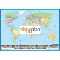 Dünya Siyasi Haritası (200 Parça Puzzle)