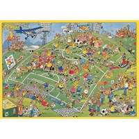 Football, Jan Van Haasteren (500 Parça Puzzle)