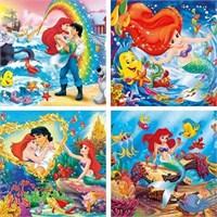 Little Mermaid (4X6 Parça)