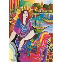 Clementoni Puzzle Woman On A Seascape, Pat Govezensky (1000 Parça)