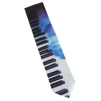 Piyano Çalan Eller Kravat