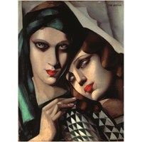Ricordi Puzzle The Green Turban, Tamara De Lempicka (1500 Parça)