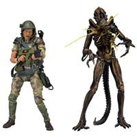 Aliens: Private William Hudson Vs Xenomoph Warrior Action Figure Set