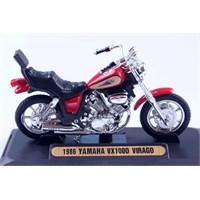 Diecast 1986 Yamaha Vx1000 Virago 1/18 Die Cast Model Motorsiklet