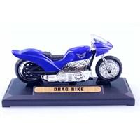 Diecast Drag Bike 1/18 Die Cast Model Motorsiklet