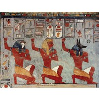 Ricordi Puzzle In Front Of The Gods,Egyptian Art (1000 Parça)