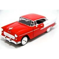 Motormax 1955 Chevy Bel Air -Kırmızı 1:24 Model Araba