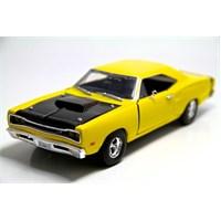 Motormax 1:24 1969 Dodge Coronet Süper Bee -Sarı Model Araba