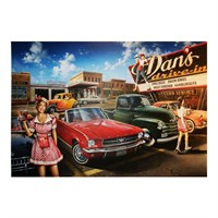 Masterpieces Puzzle At The Drive-In () (500 Parça)