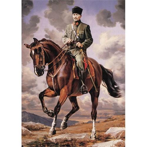 Educa Puzzle Gazi Mustafa Kemal Sakarya İsimli Atıyla (1500 Parça)