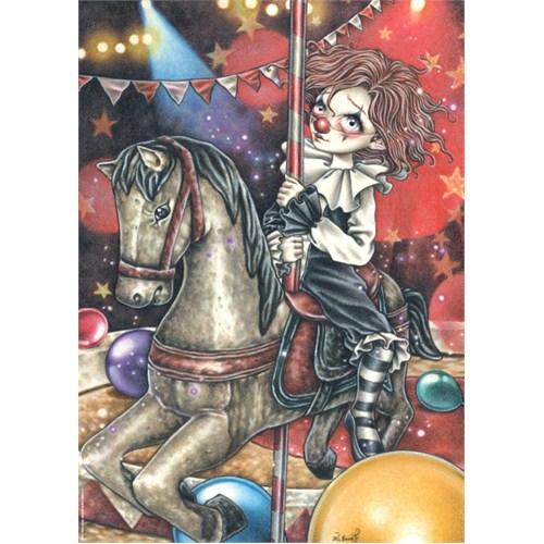 Heye Puzzle Carousel, Misty Circus (1000 Parça)