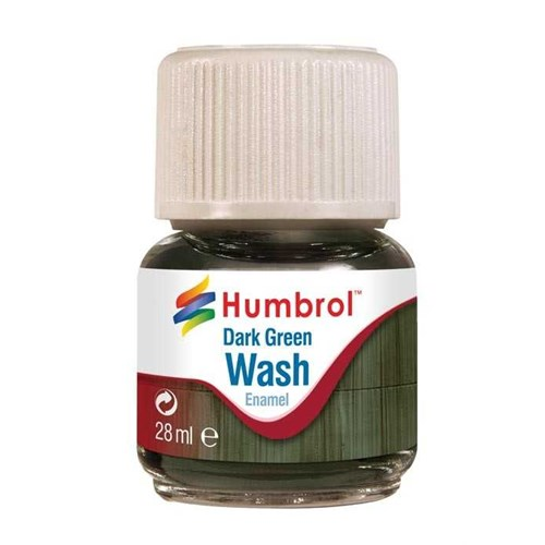 Humbrol Wash - Dark Green