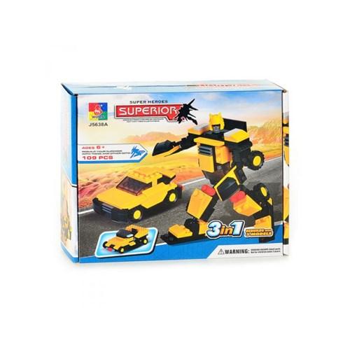 Transformers Araba Robot Lego Seti