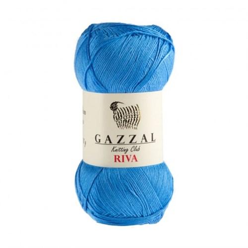 Gazzal Riva Gök Mavisi El Örgü İpi -169