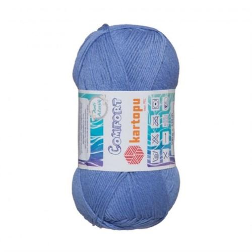 Kartopu Comfort Mavi El Örgü İpi - K535