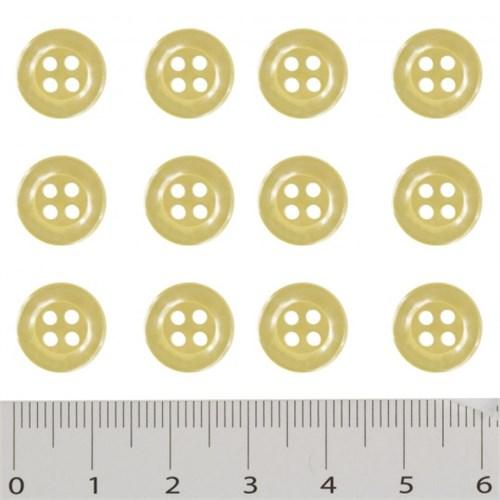 Hobium Sarı Fantazi Düğme