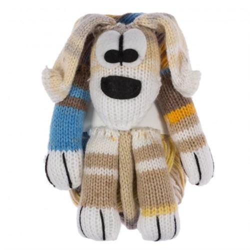 Kartopu Sihirli Köpek Açık Kahverengi El Örgü İpi Kiti - Kf813