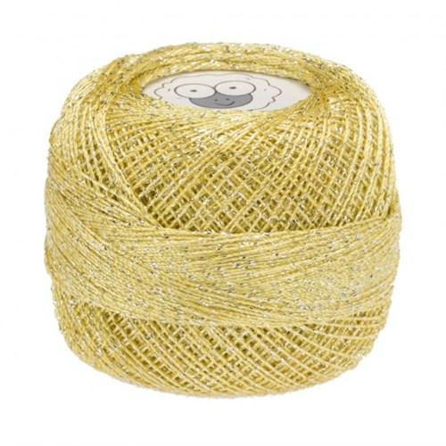 Diva Line Old Ewe Fine Lurex Sarı Kroşe İpliği - 742