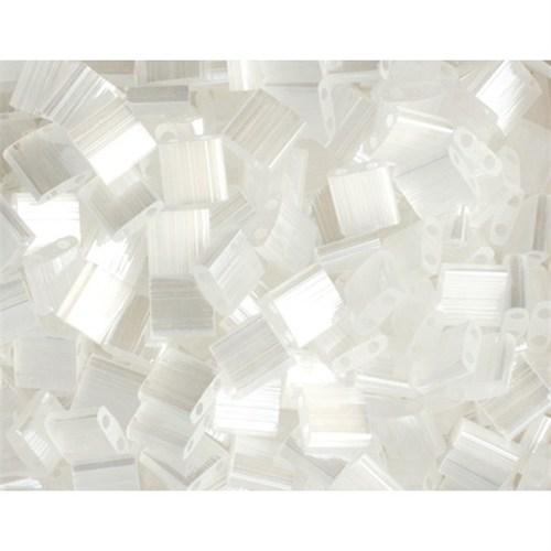 Miyuki Tila Bead 5X5 Mm 50 Gr. Şeffaf Beyaz Boncuk - 690Tl00-2548