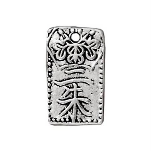 Tierra Cast 1 Adet 13.25X8 Mm Gümüş Rengi Motifli Takı Aksesuarı - 94-2025-12