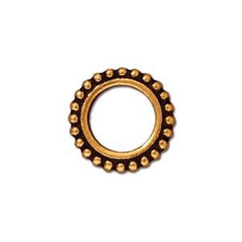 Tierra Cast Twisted 1 Adet 13.75X10 Mm Altın Rengi Takı Ucu Askı Aparatı - 94-5726-26