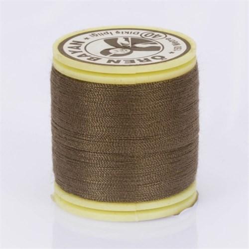 Ören Bayan Kahverengi Polyester Dikiş İpliği - 609