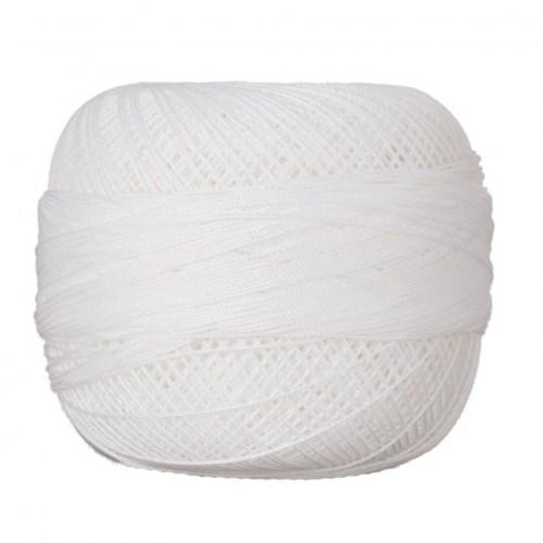 Altınbaşak No: 50 Beyaz Dantel Yumak - Beyaz