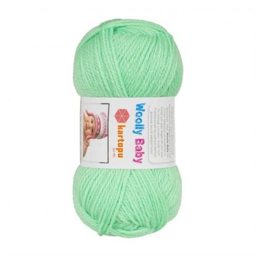 Kartopu Woolly Baby Su Yeşili Bebek Yünü - K437