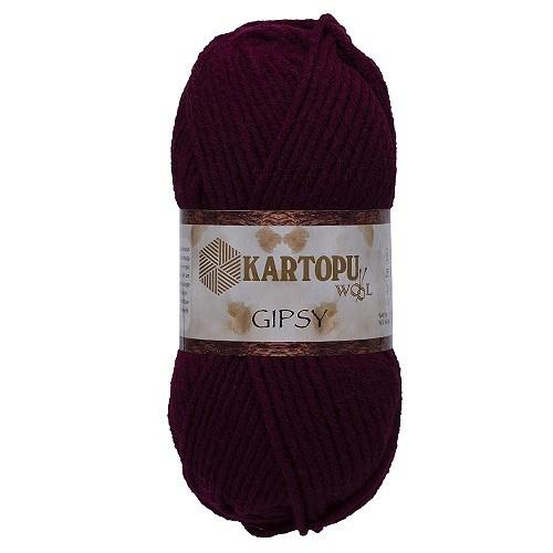 Kartopu Gipsy Koyu Mor El Örgü İpi - K110