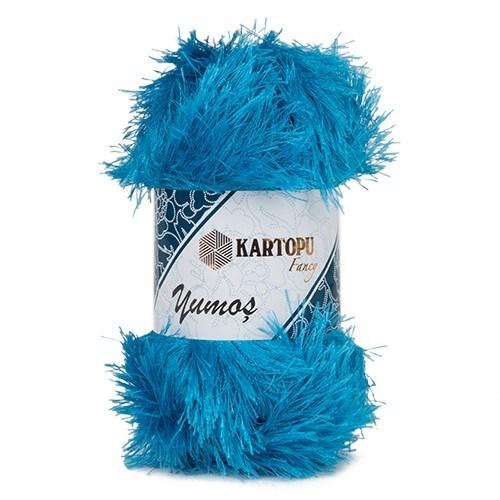 Kartopu Yumoş Mavi El Örgü İpi - K515