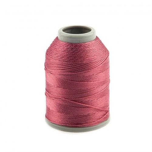 Kartopu Koyu Pembe Polyester Dantel İpliği - Kp319