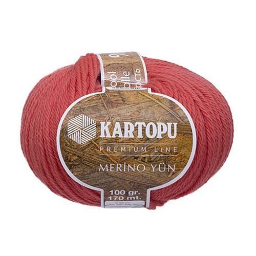 Kartopu Merino Pembe El Örgü İpi - K260