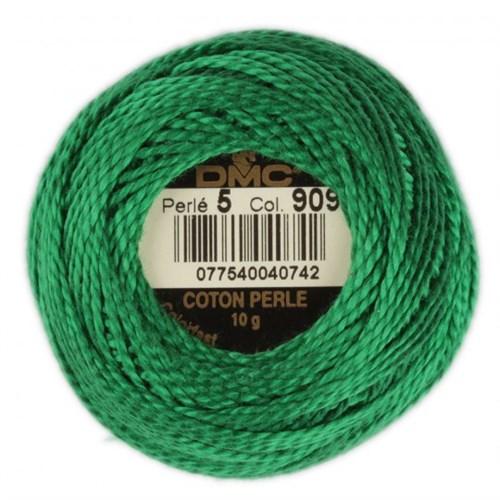 Dmc Koton Perle Yumak 10 Gr Yeşil No:5 - 909