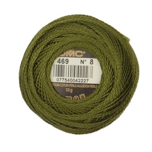 Dmc Koton Perle Yumak 10 Gr Yeşil No:8 - 469