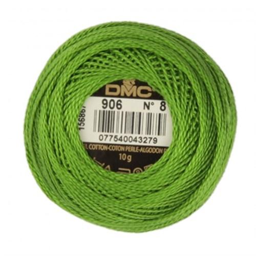 Dmc Koton Perle Yumak 10 Gr Yeşil No:8 - 906