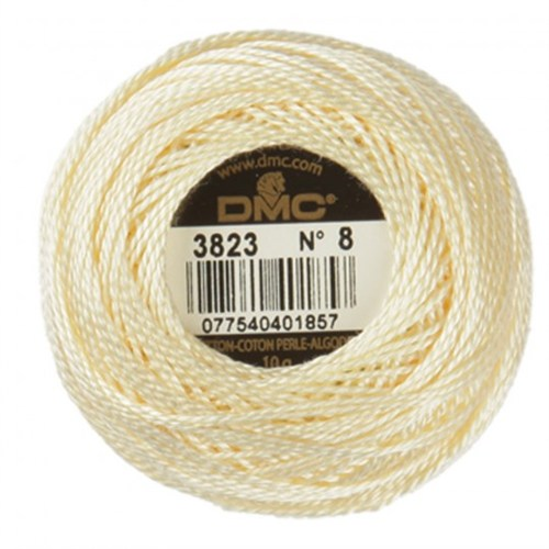 Dmc Koton Perle Yumak 10 Gr Sarı No:8 - 3823