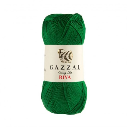 Gazzal Riva Koyu Yeşil El Örgü İpi - 175
