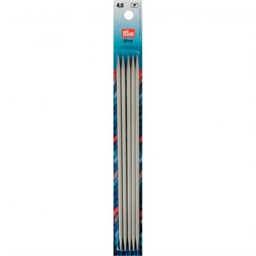 Prym 4 Mm 20 Cm Alüminyum 5'Li Çorap Şişi - 191492