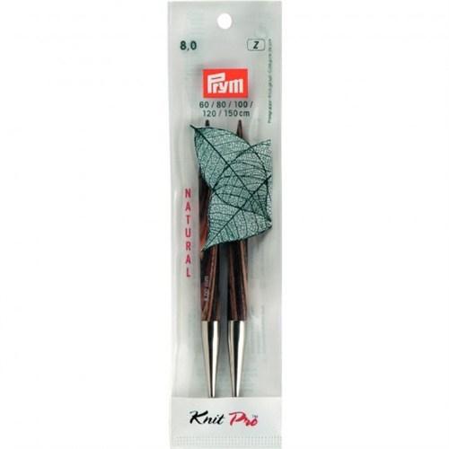 Prym 8 Mm 12.8 Cm Gül Ağacı Misinalı Şiş Ucu - 223331