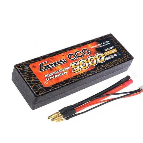 Gens Ace 5000Mah 7.4V 50C 2S1p Lipo Batarya
