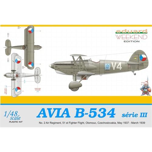 Avia B-534 III Serie (ölçek 1:48)
