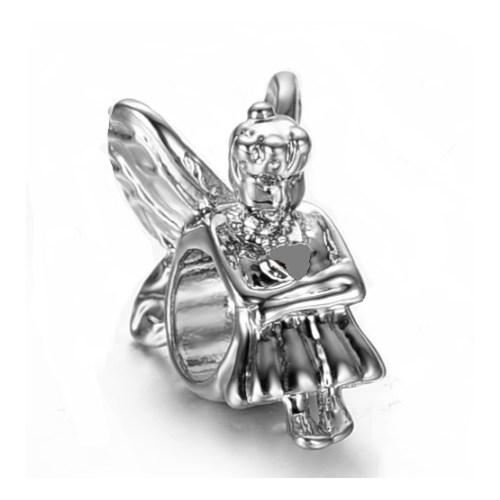 Angemiel Melek Gümüş Kaplama Charm İle Kendi Tarzını Yarat