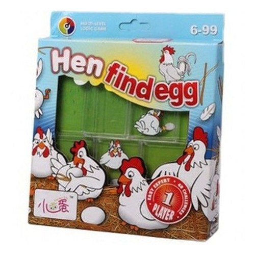 Hen Find Egg Problem Çözme Oyunu