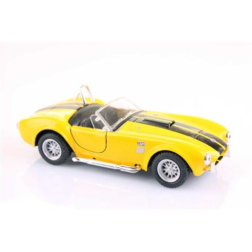 Sarı 1965 Shelby Cobra 427 5-C 1/32 Çek Bırak Die-Cast Model Araç